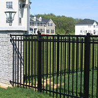 Aluminum Fence Installed South Jersey