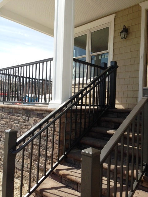 Aluminum Railing Installed South Jersey